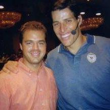 Ernesto Verdugo with Tony Robbins