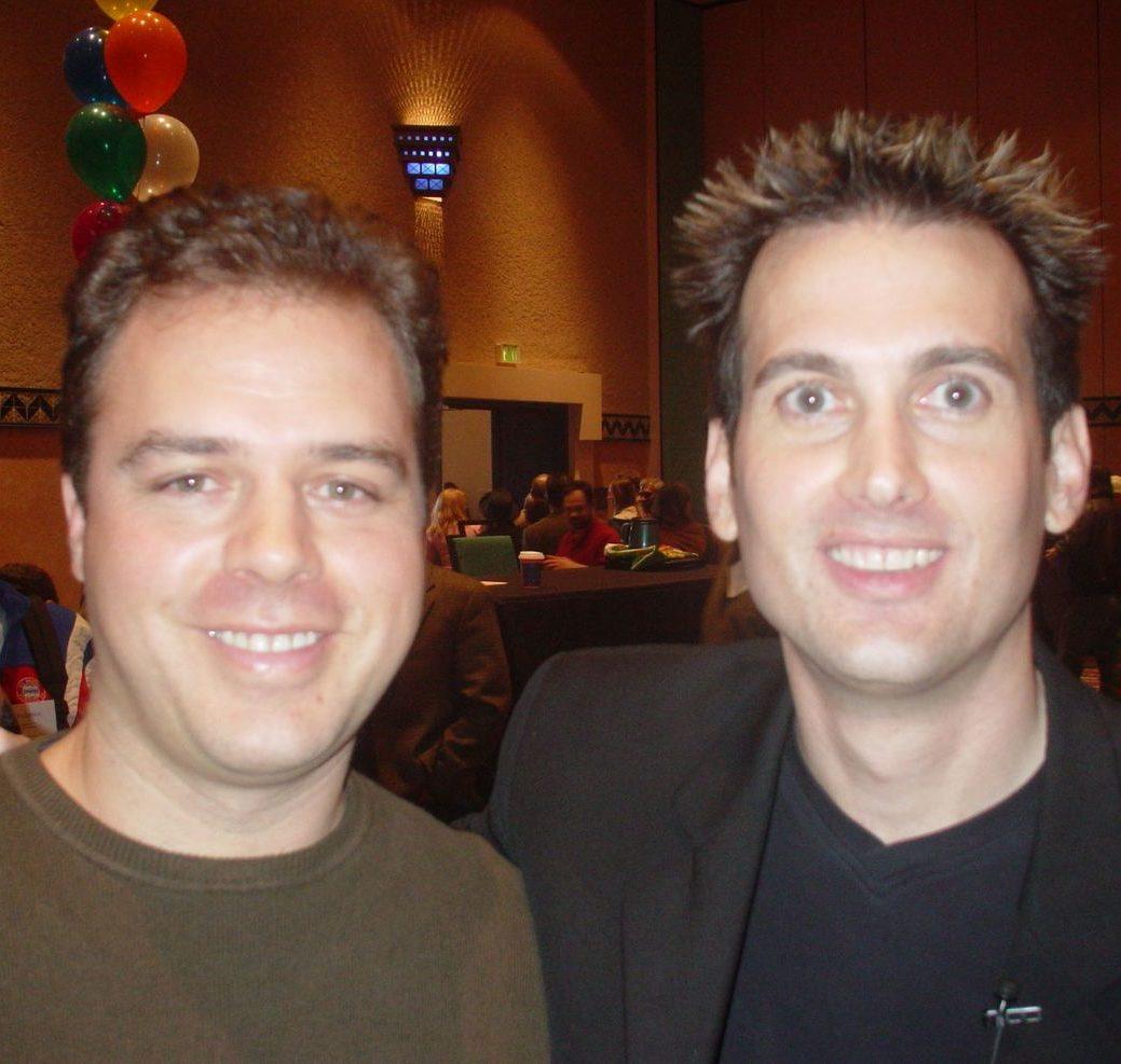 Ernesto Verdugo with Cory Rudl