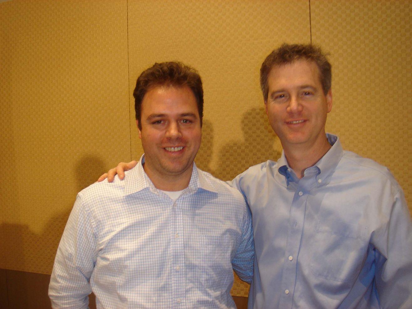 Ernesto Verdugo with Jeff Walker