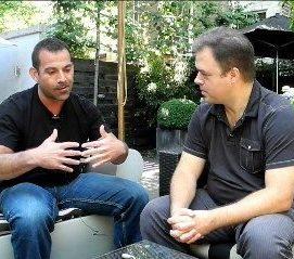 Ernesto Verdugo with Rich Sheffren