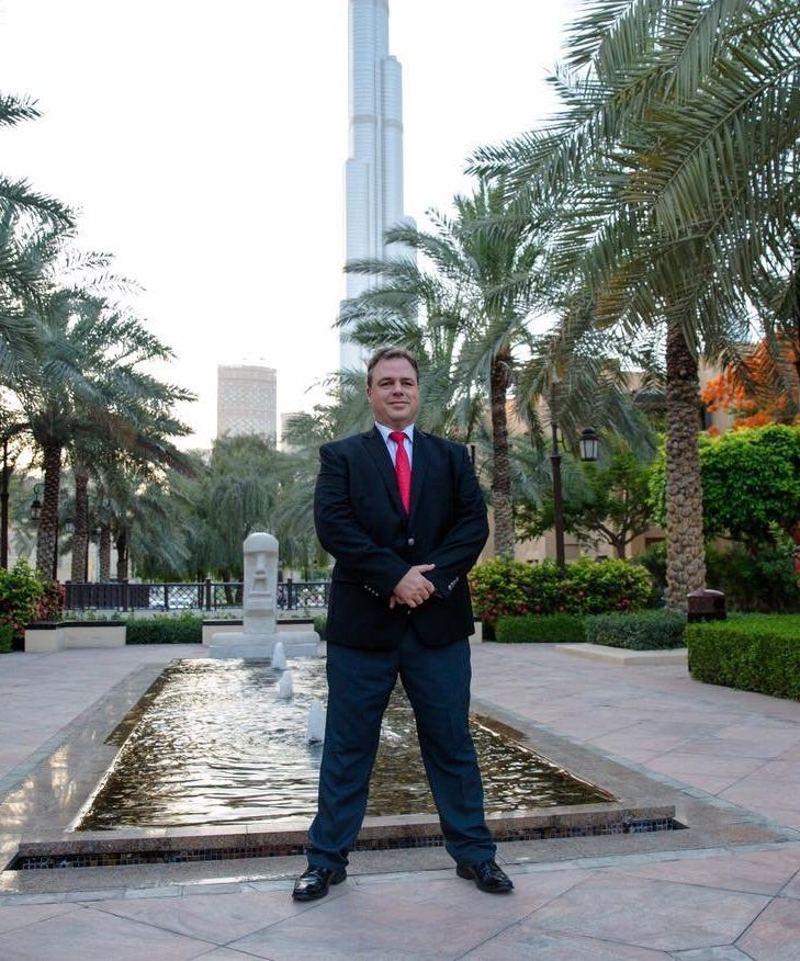 Ernesto Verdugo in Burj Khalifa