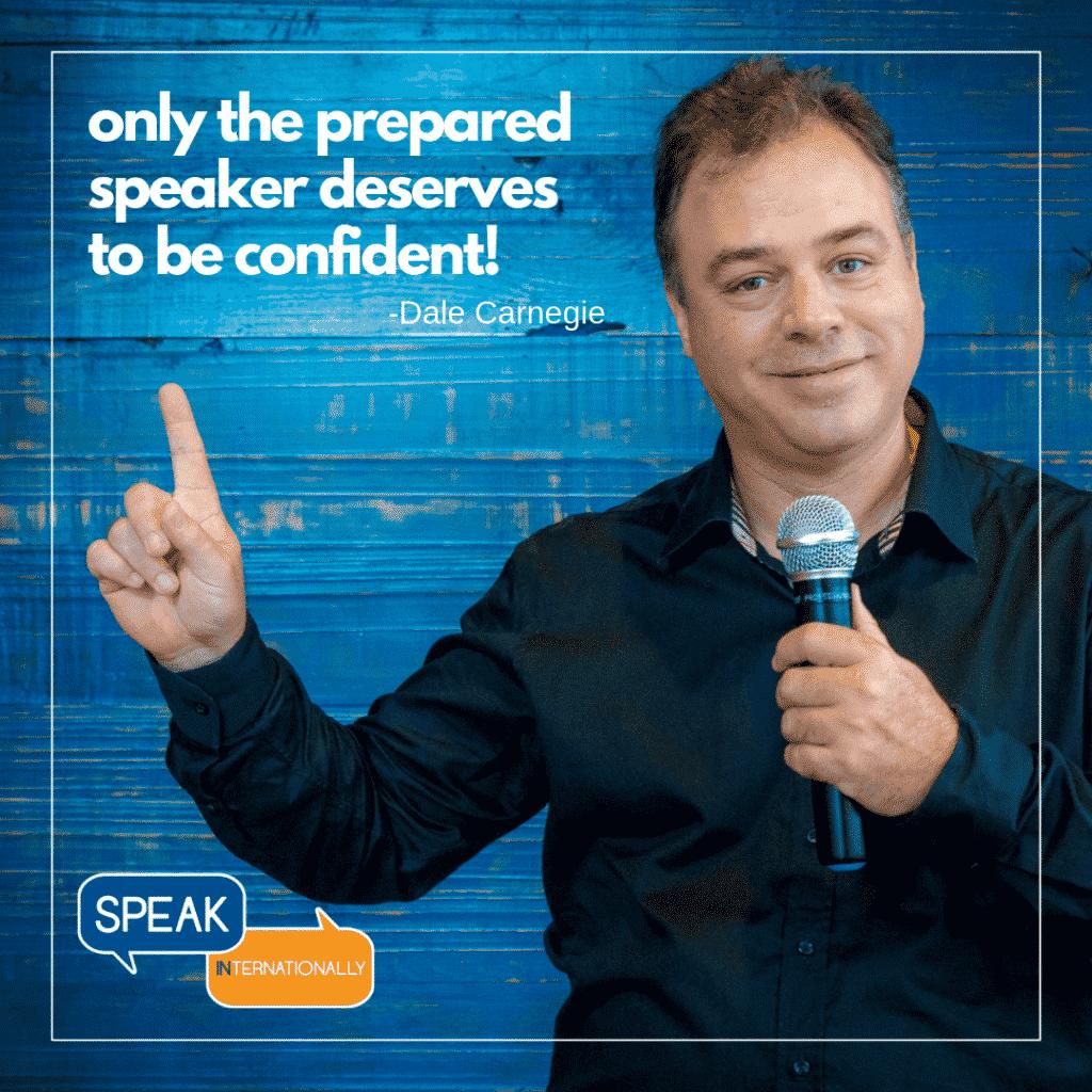 Ernesto Verdugo is the great speaker