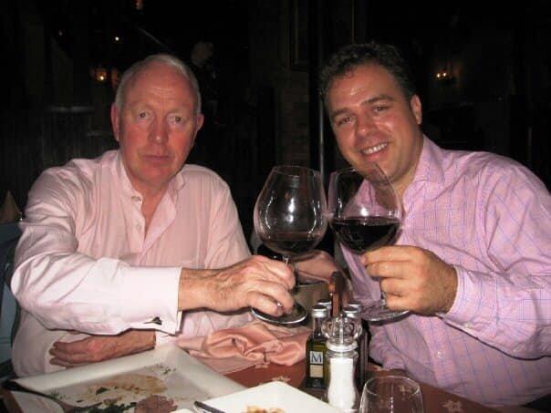 Ernesto Verdugo with Tony Buzan