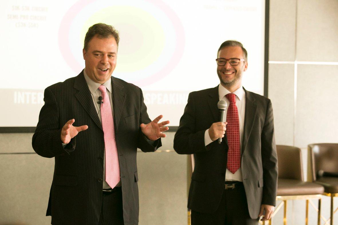 Ernesto Verdugo and Christian Farioli