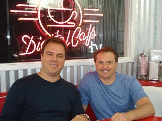 Ernesto Verdugo with Mike Koenings