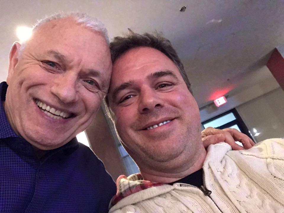 Ernesto Verdugo with Raymond Aaron